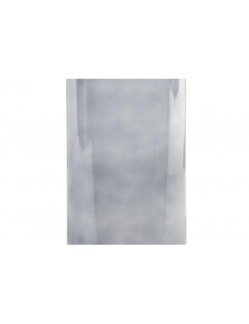 Lámpara farol metal blanco