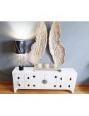 Mueble de entrada madera blanco