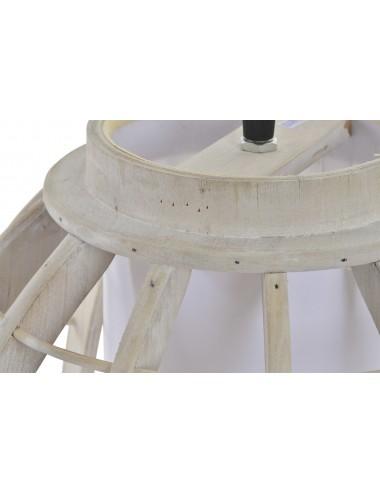 Portavelas cerámica calada grande